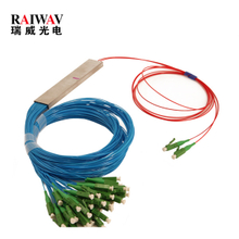 FTTH 2x4 2x8 2x16 2x32 Micro Fiber Optical PLC Splitter