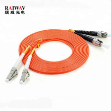 ST-LC Duplex Multimode Optical Fiber Patch Cord