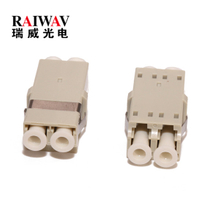 Fiber Optic Duplex MM LC Adapter