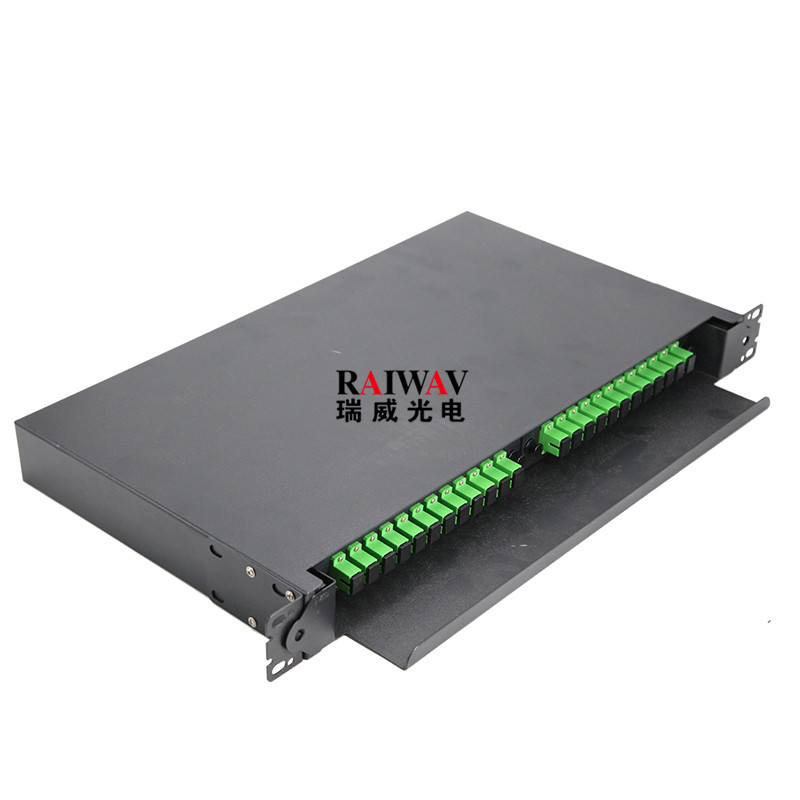 FTTH 12 24 48 Cores LC SC Optic Fiber Patch Panel