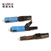FTTH SC UPC SC APC Fiber Optical Fast Connector