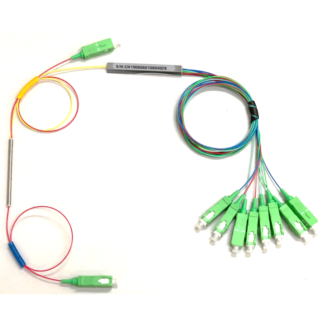 Mix FBT PLC Fiber Optic Splitter