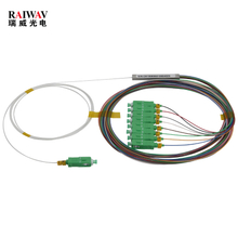 FTTH 1x8 2X8 Micro Fiber Optical PLC Splitter